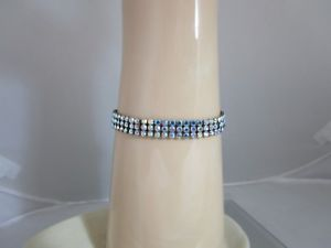 【送料無料】ブレスレット アクセサリ― スワロフスキーブレスレットオーロラフィットswarovski fit bracelet aurora borealis crystal