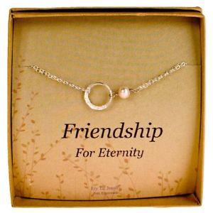 【送料無料】ブレスレット アクセサリ― ブレスレットパールスターリングシルバーカードeternity bracelet dainty pearl sterling silver bridesmaids gift with card