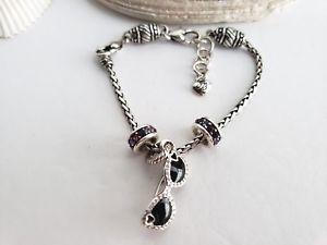 【送料無料】ブレスレット アクセサリ― ブライトンバレルスライドチャームブレスレットbrighton abc barrel slide charm bracelet w3 charms