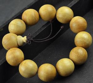 【送料無料】ブレスレット アクセサリ― クールファッションビーズブレスレット20mm nice natural thuja sutchuenens beaded bracelet for cool man and fashion man