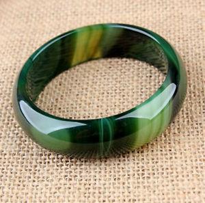 【送料無料】ブレスレット アクセサリ― ワイドブレスレット5466mm very rare natural grass green agate jade wide bracelet