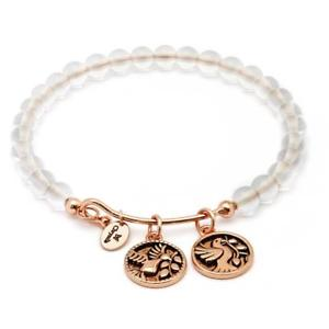 【送料無料】ブレスレット アクセサリ― ブレスレットコレクションホワイトクォーツローズゴールドchrysalis bracelet tranquility collection truth white quartz rose gold