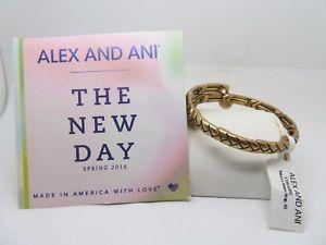 【送料無料】ブレスレット アクセサリ― アレックスゴールドラップブレスレットalex and ani gold the day natures weave wrap bracelet nwt