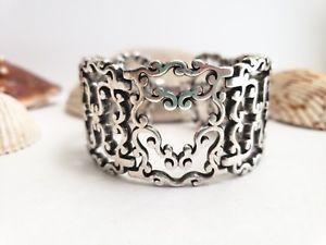 【送料無料】ブレスレット アクセサリ― ブライトンブレスレットbrighton summer love heart wide silver bracelet