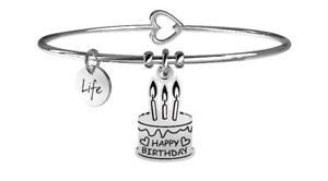 【送料無料】ブレスレット アクセサリ― ブレスレットスチールケーキyoung adult bracelets steel special moments cake happy birthday 731077