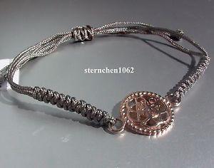 【送料無料】ブレスレット アクセサリ― ブレスレットグレーoriginal dreamcatcher bracelet * textile grey * flower * steel ros