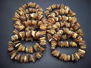 【送料無料】ブレスレット アクセサリ― バルトブレスレットlot10 natural raw baltic amber bracelet