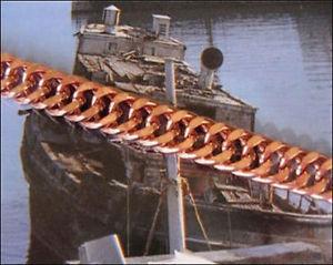 【送料無料】ブレスレット アクセサリ― メンズインチソリッドブレスレットインチワイドmens 8 inch solid copper bracelet cb669g  516 of an inch wide