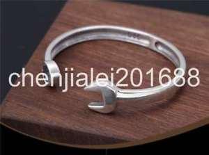 【送料無料】ブレスレット アクセサリ― s925スターリングリバイバルブレスレットpure s925 sterling silver retro individuality popular wrench womens bracelet
