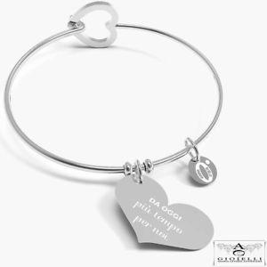 【送料無料】ブレスレット アクセサリ― スチールブレスレットthe 10 good intentions by annabiblo steel bracelet now more time for us