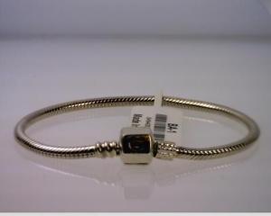 【送料無料】ブレスレット アクセサリ― ブレスレットタグスナップsterling silver chamilia 67 bracelet, ba1 with tag, snap clasp b8781
