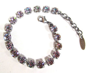【送料無料】ブレスレット アクセサリ― ブレスレットsoho bracelet anklet polished crystals vitrail light violet iridescent
