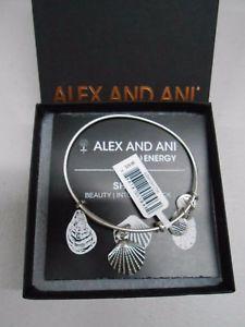 【送料無料】ブレスレット アクセサリ― アレックスシーシェルブレスレットシルバータグボックスカードalex and ani sea shell charm bracelet silver finish with tagsboxcard