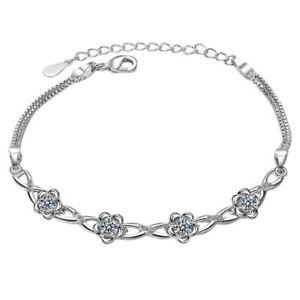 【送料無料】ブレスレット アクセサリ― ラウンドロマンチックブレスレットシルバーブレスレットアジャスタブル20xwomens round romantic bracelet shaped silver bracelet adjustable jewe v4y1