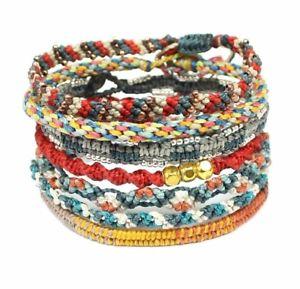 【送料無料】ブレスレット アクセサリ― ブレスレットセットauthentic wakami bracelet set the seven continents 7 strands free trade