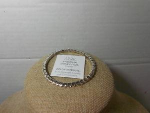 【送料無料】ブレスレット アクセサリ― クリスタルコレクションブレスレットtouchstone crystal birthstone collection bracelet april crystal