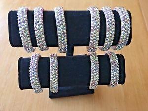 【送料無料】ブレスレット アクセサリ― ダンスジュエリーアクセサリーブレスレットクリスタルスワロフスキーwomen ballroom dance jewelry accessories bracelet crystal ab made with swarovski