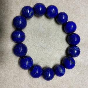 【送料無料】ブレスレット アクセサリ― ラピスラズリブレスレットnatural bright blue lapis lazuli bracelet 12mm