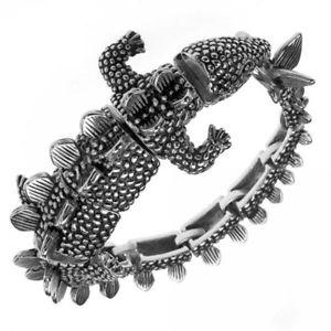 【送料無料】ブレスレット アクセサリ― ステンレススチールブレスレットハイエンドstainless steel bracelet as dinosaur high end
