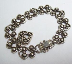 【送料無料】ブレスレット アクセサリ― ブライトンブレスレットbrighton chunky swirls with heart charm bracelet
