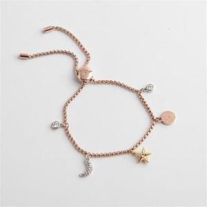 【送料無料】ブレスレット アクセサリ― ミハエルトライスライダブレスレットmichael kors beyond brilliant tritone celestial charms slider bracelet