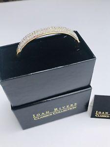 【送料無料】ブレスレット アクセサリ― ゴージャスジョアンリバースクラシックスコレクションブレスレットクリアgorgeous joan rivers classics collection bracelet pave set clear crystals nib