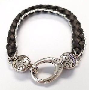 【送料無料】ブレスレット アクセサリ― ブライトンベラメタリックブラウンブレスレットbrighton bella braided metallic brown bracelet
