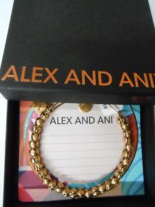 【送料無料】ブレスレット アクセサリ― アレックスアニtravelerブレスレットrafaeliannwtbcalex and ani traveler metal beaded expandable bracelet rafaelian gold nwtbc