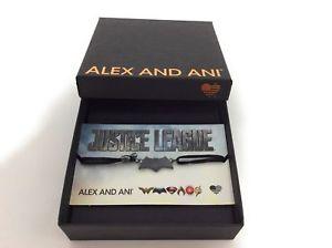 【送料無料】ブレスレット アクセサリ― アレックスアニbatmanコードブレスレットスターリングnwtbcalex and ani batman kindred cord justice league bracelet sterling silver nwtbc