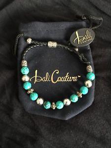 【送料無料】ブレスレット アクセサリ― バリスターリングシルバーターコイズブレスレットbali couture handcrafted sterling silver and genuine turquoise bracelet