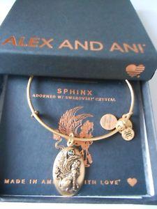 【送料無料】ブレスレット アクセサリ― アレックススフィンクススワロフスキークリスタルブレスレットラファエリアンゴールドalex and ani sphinx with swarovski crystal bracelet rafaelian gold nwtbc