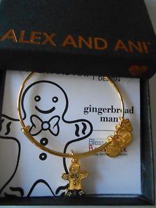 【送料無料】ブレスレット アクセサリ― アレックスジンジャーブレッドブレスレットイエローゴールドalex and ani gingerbread man ii expandable bracelet yellow gold nwtbc