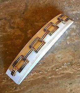 【送料無料】ブレスレット アクセサリ― ケネスジェイレーンリンクブレスレットkjl by kenneth jay lane panther link bracelet rare and fabulous