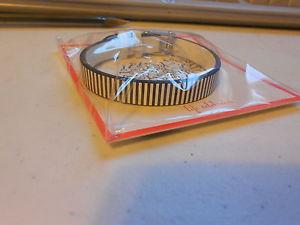 【送料無料】ブレスレット アクセサリ― レザーブレスレットシングルリバーシブルホワイトkeep collective leather bracelet single reversible whitepinstripe