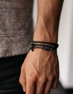【送料無料】ブレスレット アクセサリ― エグゼクティブアンカーナイロンラップブレスレットexecutive society anchor nylon wrap braceletexso free shipping