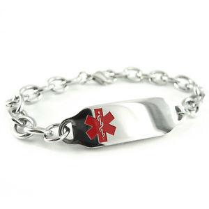 【送料無料】ブレスレット アクセサリ― ストロークブレスレットウォレットカードmyiddr pre engraved stroke patient medical bracelet, with wallet card