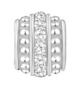 【送料無料】ブレスレット アクセサリ― スペーサーシルバーミントpastiche lovelinks spacer silver amp; cz tt464cz mint