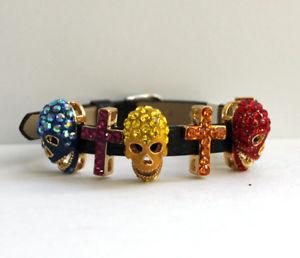 【送料無料】ブレスレット アクセサリ― バトラーウィルソンマルチスモールスカルクロスブレスレットbutler and wilson multi small skull cross bracelet