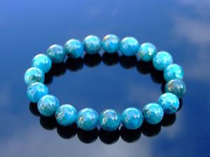 【送料無料】ブレスレット アクセサリ― ブレスレットヒーリングストーンチャクラapatite 10mm natural gemstone bracelet 69 elasticated healing stone chakra