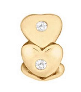 【送料無料】ブレスレット アクセサリ― スペーサリンクミントlovelinks by pastiche spacer link gold plated silver tt096czg mint