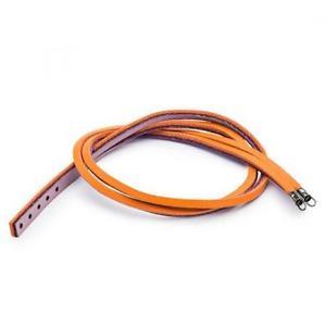 【送料無料】ブレスレット アクセサリ― ブレスレットオレンジライラックtrollbeads leather bracelet leather orange lilac tlebr 00065