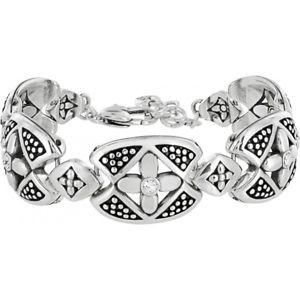 【送料無料】ブレスレット アクセサリ― ブライトンクロスポイントシルバーブレスレットbrighton crosspoint silver bracelet nwt