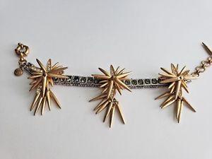 【送料無料】ブレスレット アクセサリ― トーンスタークリスタルリンクブレスレットj crew two tone movable star crystal link bracelet