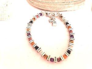 【送料無料】ブレスレット アクセサリ― ブライトンカラフルビーズシルバーブレスレットbrighton confetti colorful bead silver bracelet retired