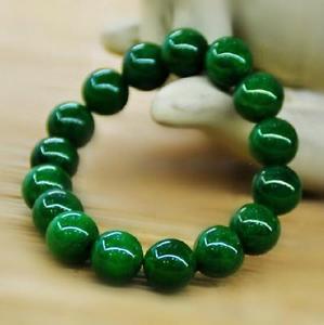 【送料無料】ブレスレット アクセサリ― ビーズブレスレットnatural green jade beads bracelet