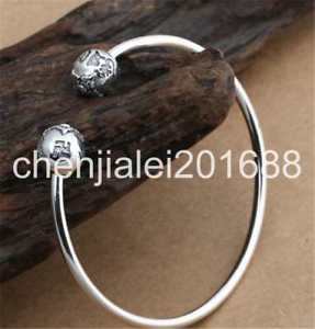 【送料無料】ブレスレット アクセサリ― スターリングシルバーファッションシンボルブレスレットpure s925 sterling silver fashion vajra amulet symbols womens bracelet