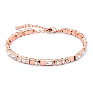 【送料無料】ブレスレット アクセサリ― モールスブレスレットスワロフスキークリスタルローズゴールドグランプリmyjs i love you morse code bracelet with swarovski crystals rose gold gp gift