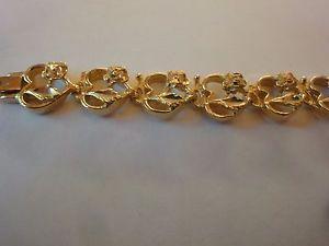 【送料無料】ブレスレット アクセサリ― バラハートファッションゴールドレディースブレスレットrose and heart fashion gold ladies bracelet lb40