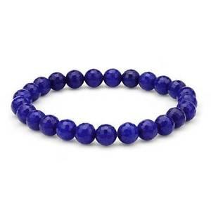 【送料無料】ブレスレット アクセサリ― サファイアビーズストレッチブレスレット9700 ctw sapphire beads stretch bracelet