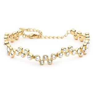 【送料無料】ブレスレット アクセサリ― フィデリティブレスレットスワロフスキークリスタルkゴールドメッキmyjs fidelity bracelet made with clear swarovski crystals 16k gold plated